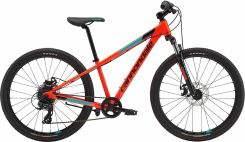 Cannondale Trail 24 Boys acid red/jet black 2018