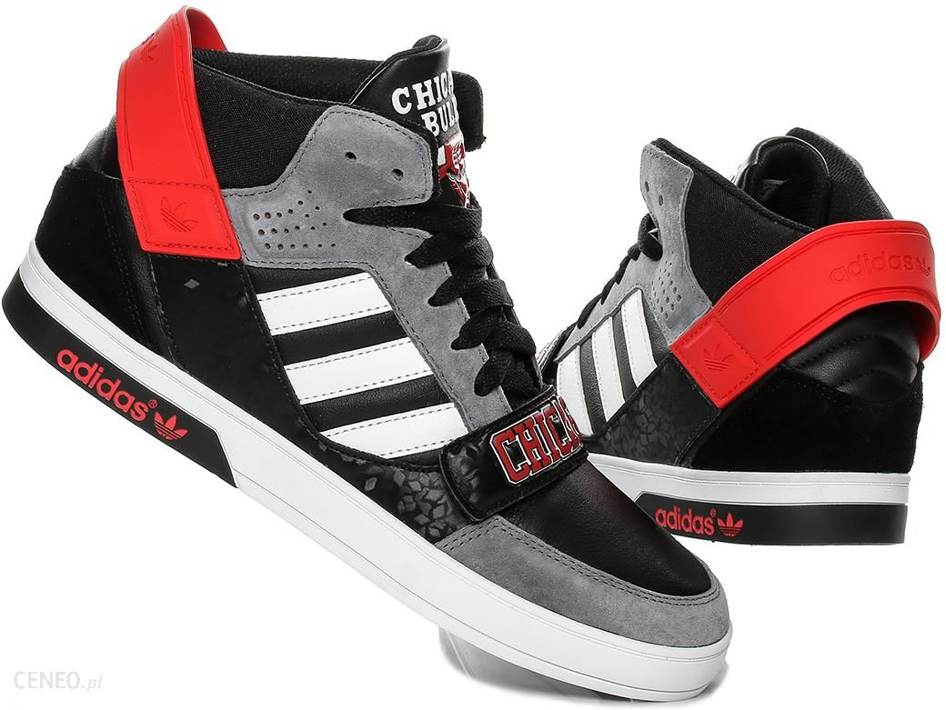size 40 a2dcd 945fe Buty Adidas Hard Court D66078 Chicago Bulls 40 23 - zdjęcie 1
