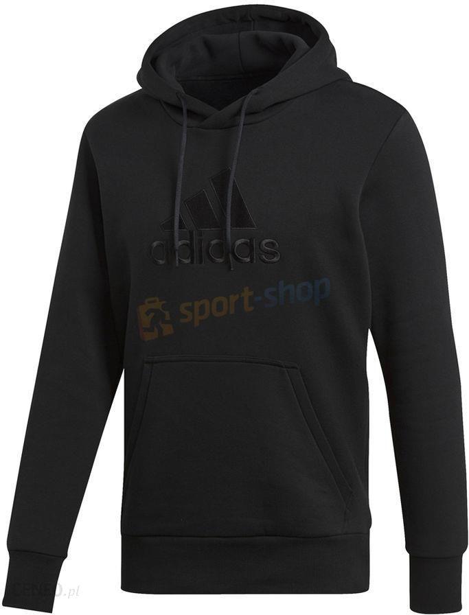 Bluza męska Essentials Pull On Fleece Adidas (czarna) Ceny i opinie Ceneo.pl