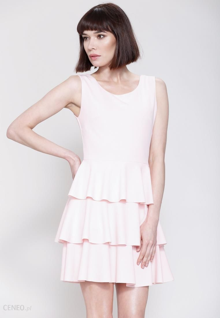 8b493329fd Różowa Sukienka Hot Touch - Ceny i opinie - Ceneo.pl