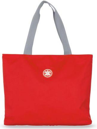 05683afafa8d3 Podobne produkty do Marynarska płócienna eko torba plażowa paski shopper  bag + saszetka - czarny