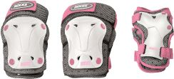Roces Ochraniacze Ventilated Pack Jr Junior White/Pink