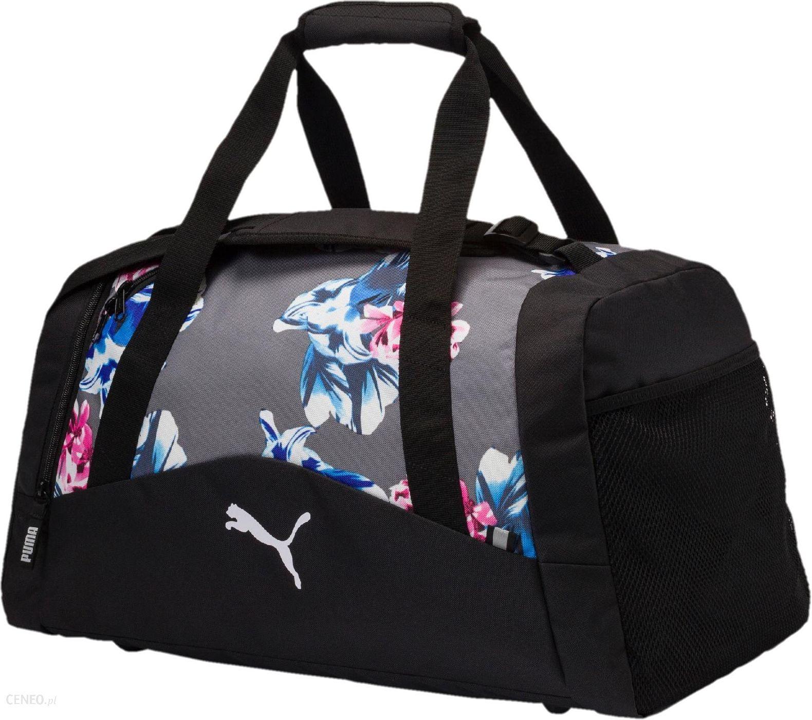 9a169e5c9876f Puma Torba Sportowa Fund. Sports Bag Graphic M Steel Gray Fl - zdjęcie 1