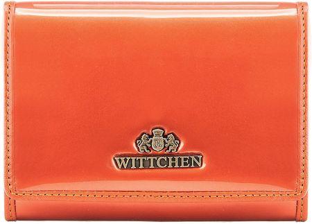 9a83eb8b84656 Portfel Wittchen Verona damski 25-1-070-6 pomarańczowy
