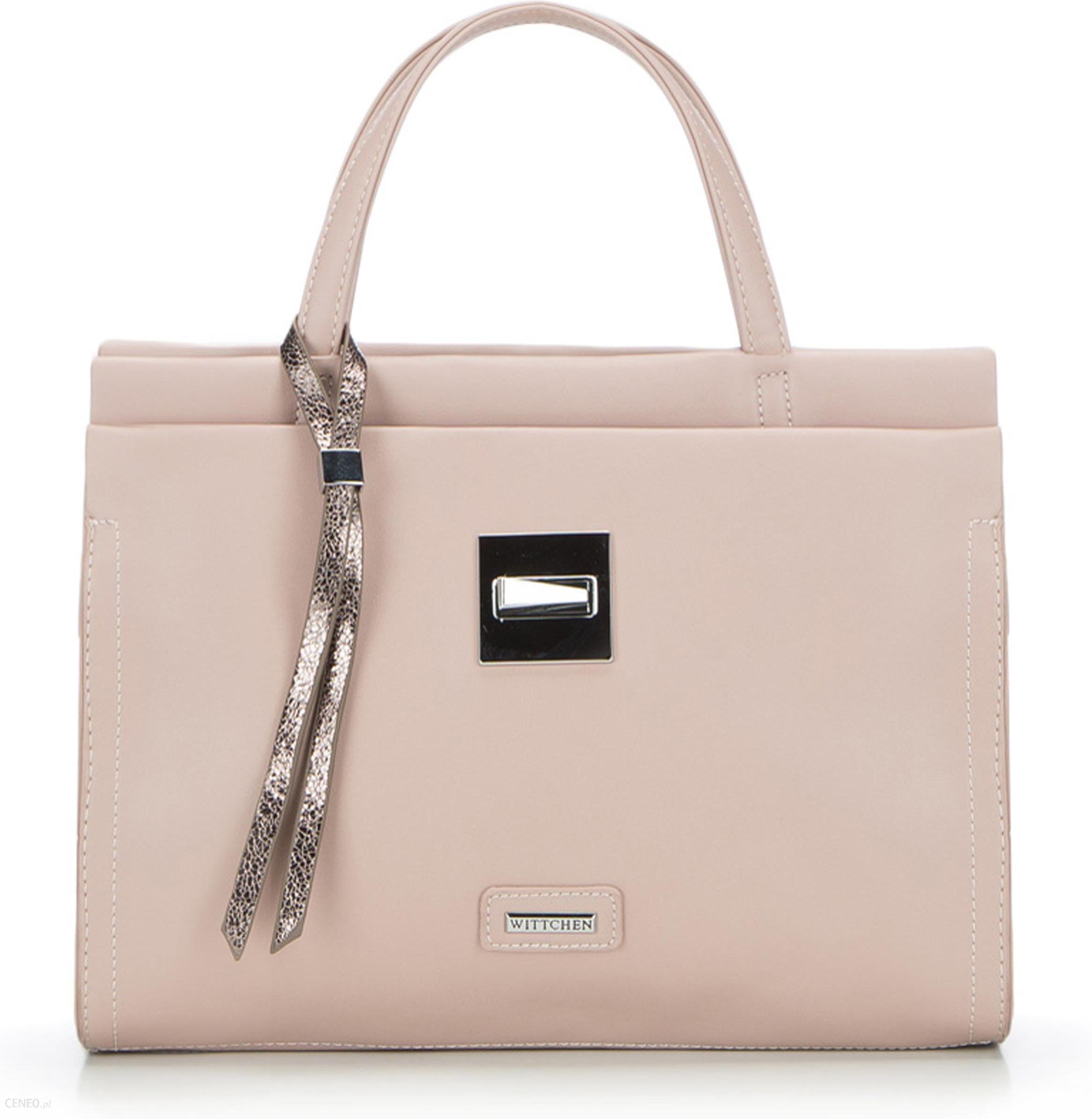 21d81834758b6 Torebka Wittchen Young Handbag 86-4Y-208-P pudrowy róż - Ceny i ...