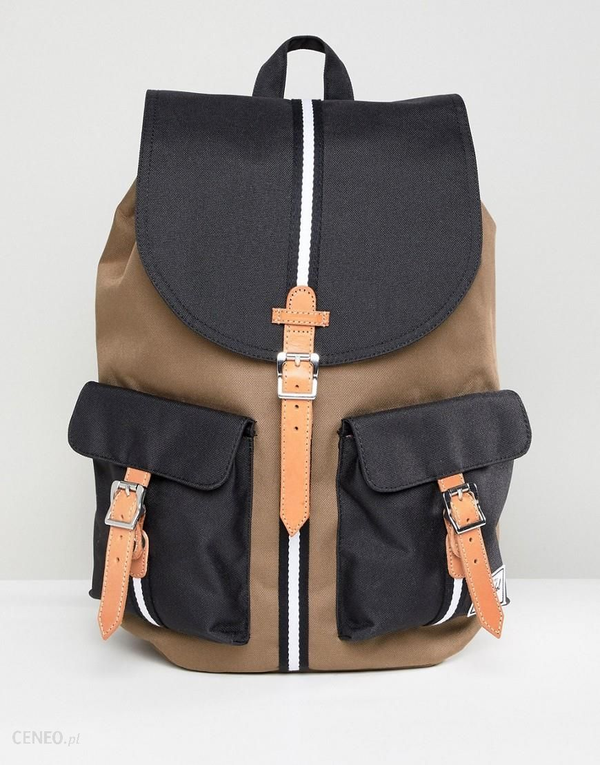 meet 16d5b 909c2 Herschel Supply Co Dawson Offset Backpack 20.5L - Black - zdjęcie 1