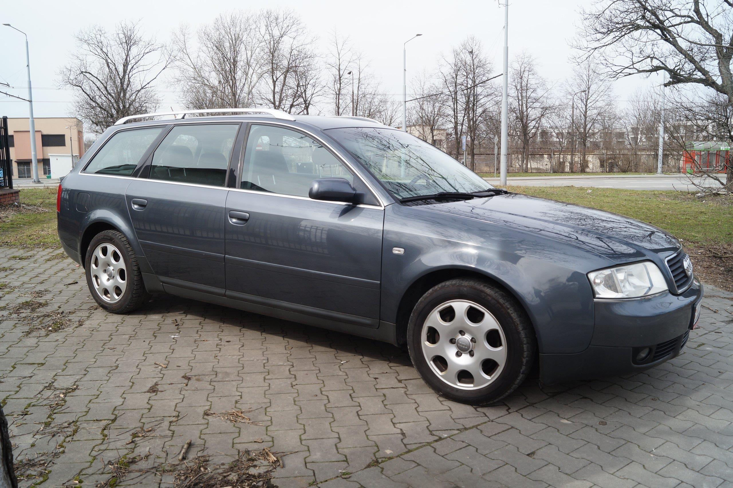 Audi A6 C5 2002 Benzyna 170km Kombi Szary Zdjęcie 1