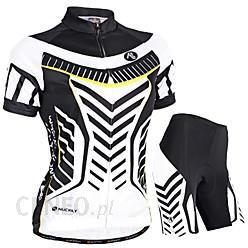 Nuckily Women s Short Sleeves Cycling Jersey with Shorts - Black Bike  Shorts Jersey Clothing Suits 36e44a72b