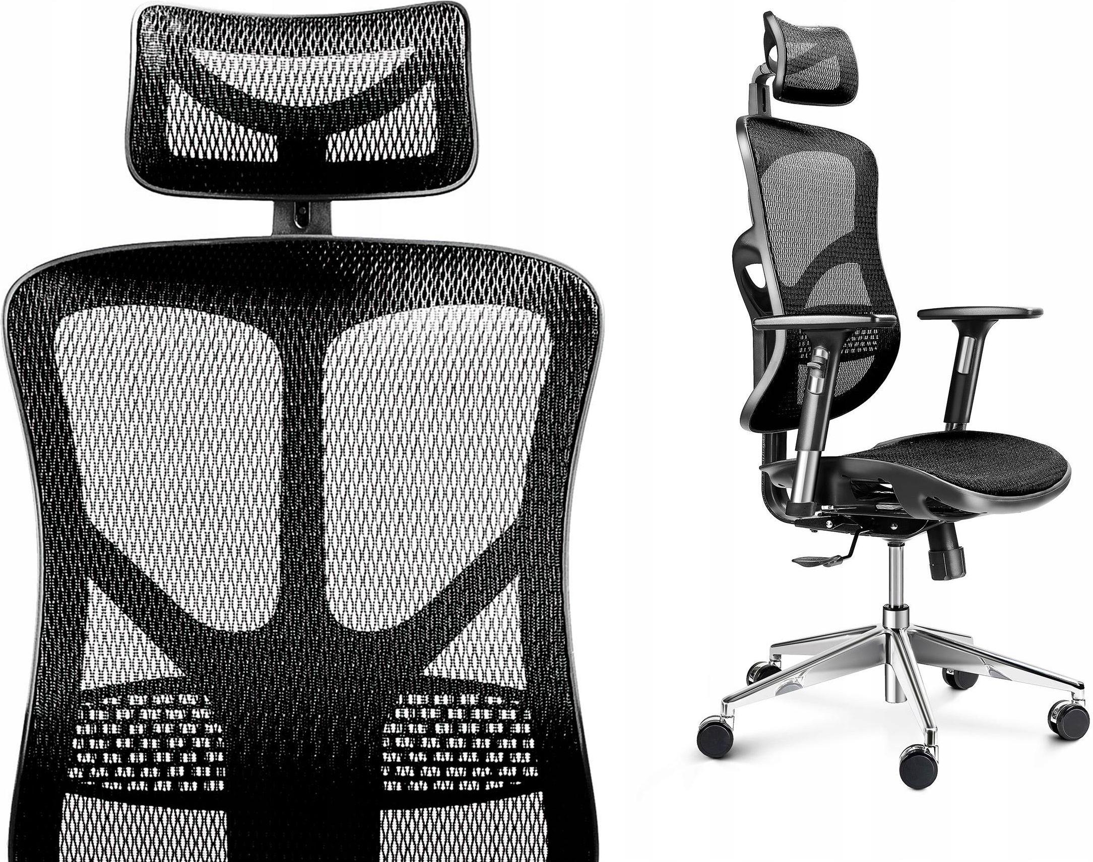 Fotel Biurowy ergonomiczny Obrotowy V-basic