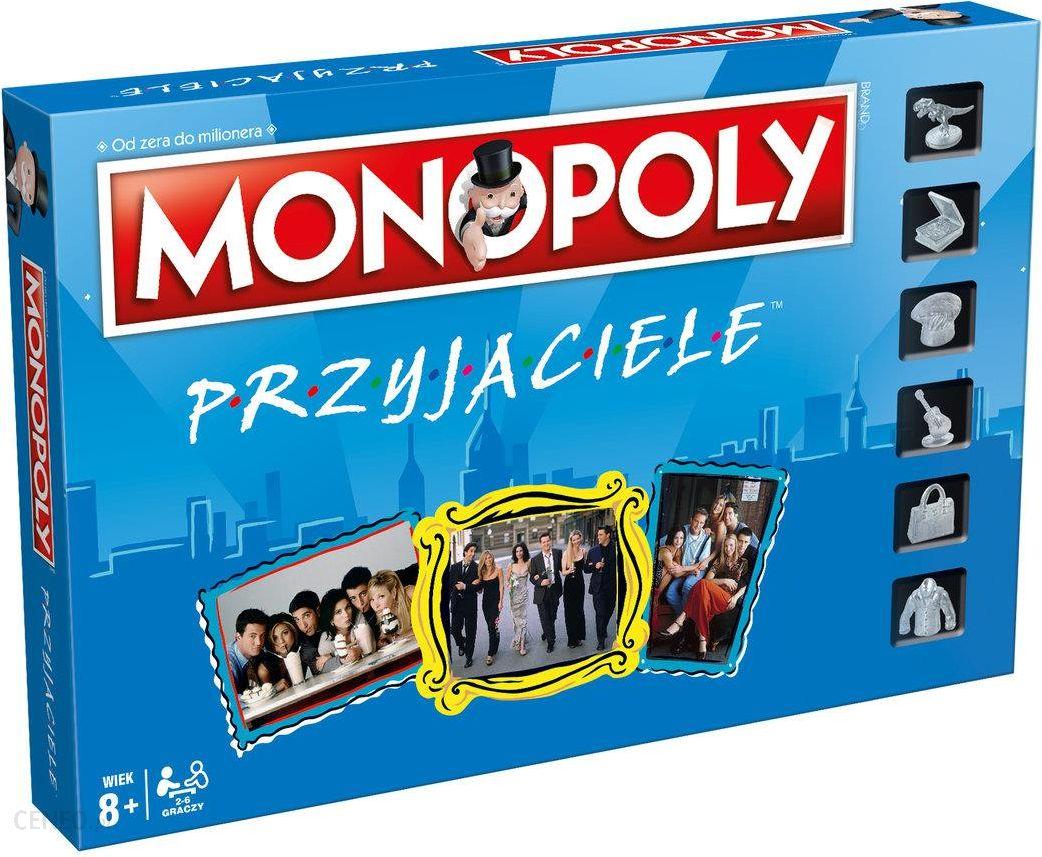Znalezione obrazy dla zapytania Monopoly, gra strategiczna Monopoly: Przyjaciele