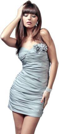 16cd5391cb Seksowna sukienka odsłonięte ramiona i plecy 38 M Allegro
