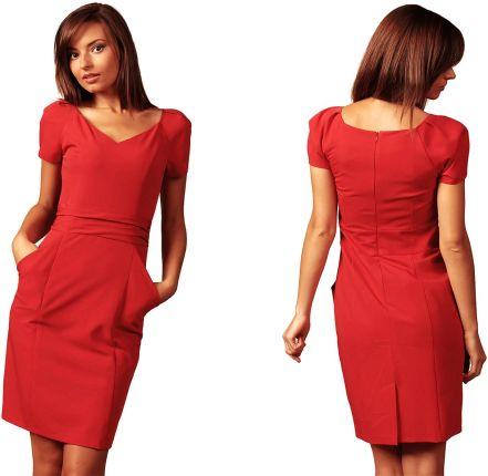 """0af0e246f5 Sukienka koktajlowa w stylu """"mała czarna"""" 46 3XL - Ceny i opinie ..."""