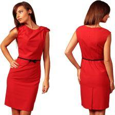 """dcd0b6d492 Sukienka koktajlowa w stylu """"mała czarna"""" 46 3XL - Ceny i opinie ..."""