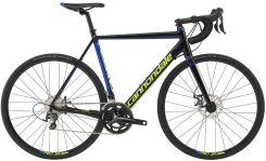 Cannondale CAAD Optimo Disc Tiagra black/blue/volt 2017