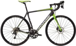 Cannondale Synapse Carbon Disc 105 green/black 2017