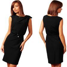 """daf8f84647 Sukienka koktajlowa w stylu """"mała czarna"""" 48 4XL - Ceny i opinie ..."""