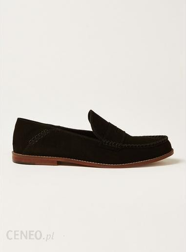 bc7d85662a9 Black Suede Raider Penny Loafers - zdjęcie 1