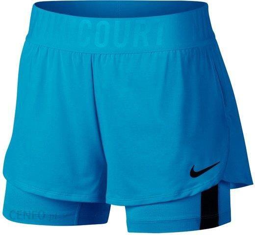 Nike Damskie Spodenki Court Dry Ace Short Neo TurquoiseBlack (923581430)