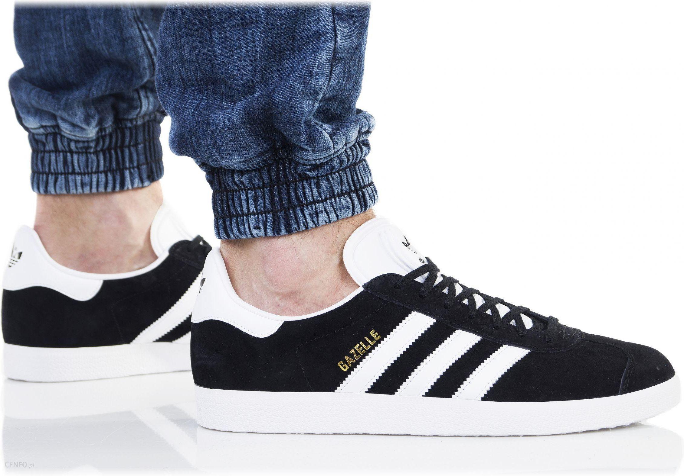 buty originals gazelle adidas czarne ceneo