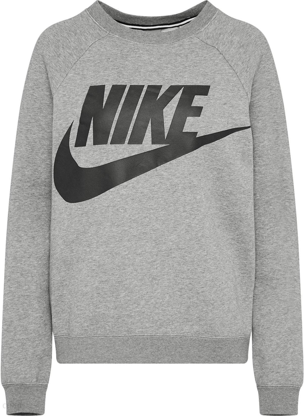 013907b0d77fed Nike Sportswear Bluzka sportowa 'RALLY' Nakrapiany Szary - Ceny i ...
