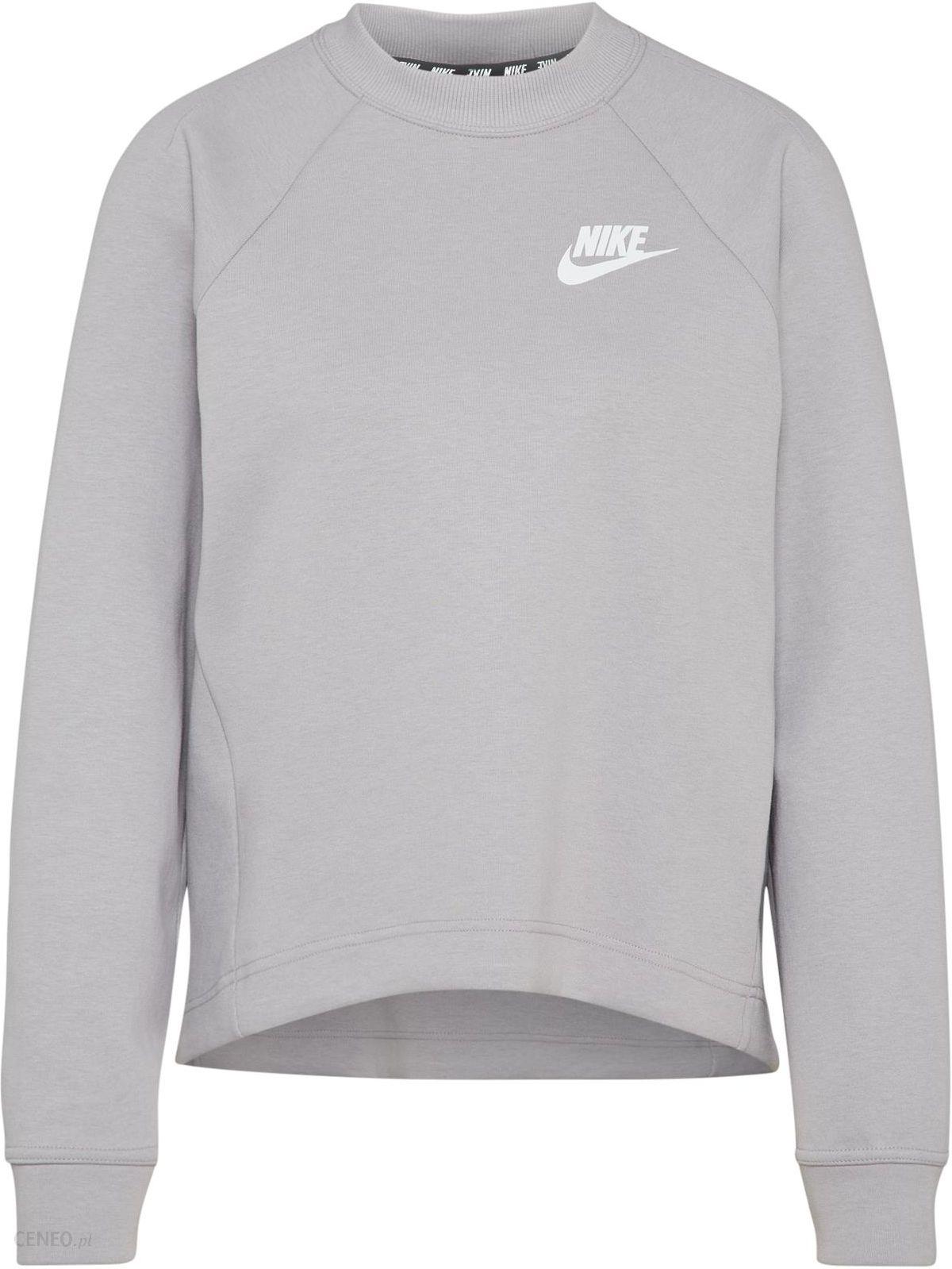 24ab723ec Nike Sportswear Bluzka sportowa 'AV15 Crew' Szary - Ceny i opinie ...