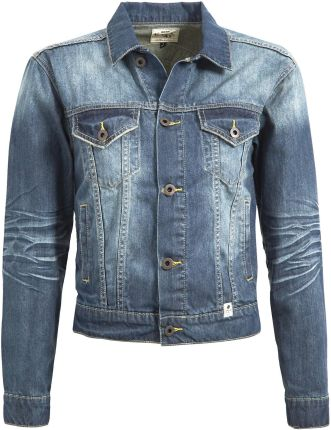 e1e042c93a597 Mustang Kurtka jeansowa super stone washed - Ceny i opinie - Ceneo.pl