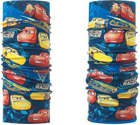 Komin Polar Buff Junior Cars TOP CARS BLUE + Chusta Junior Buff Cars TOP  CARS BLUE 8eca28b7a9c6