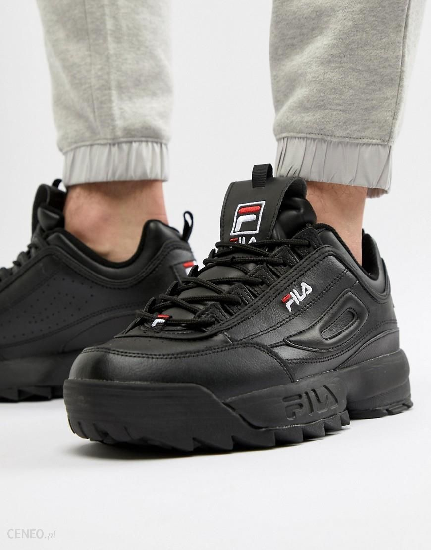 Fila Disruptor Trainer In Black Black