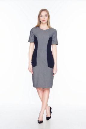 a7722889c2 Elegancka asymetryczna sukienka z łańcuszkiem - Ceny i opinie - Ceneo.pl