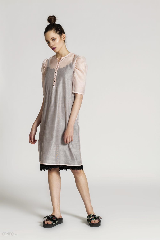dcba730b5d RabbitRabbit! Jedwabna sukienka BABETTE Różowy - Ceny i opinie ...