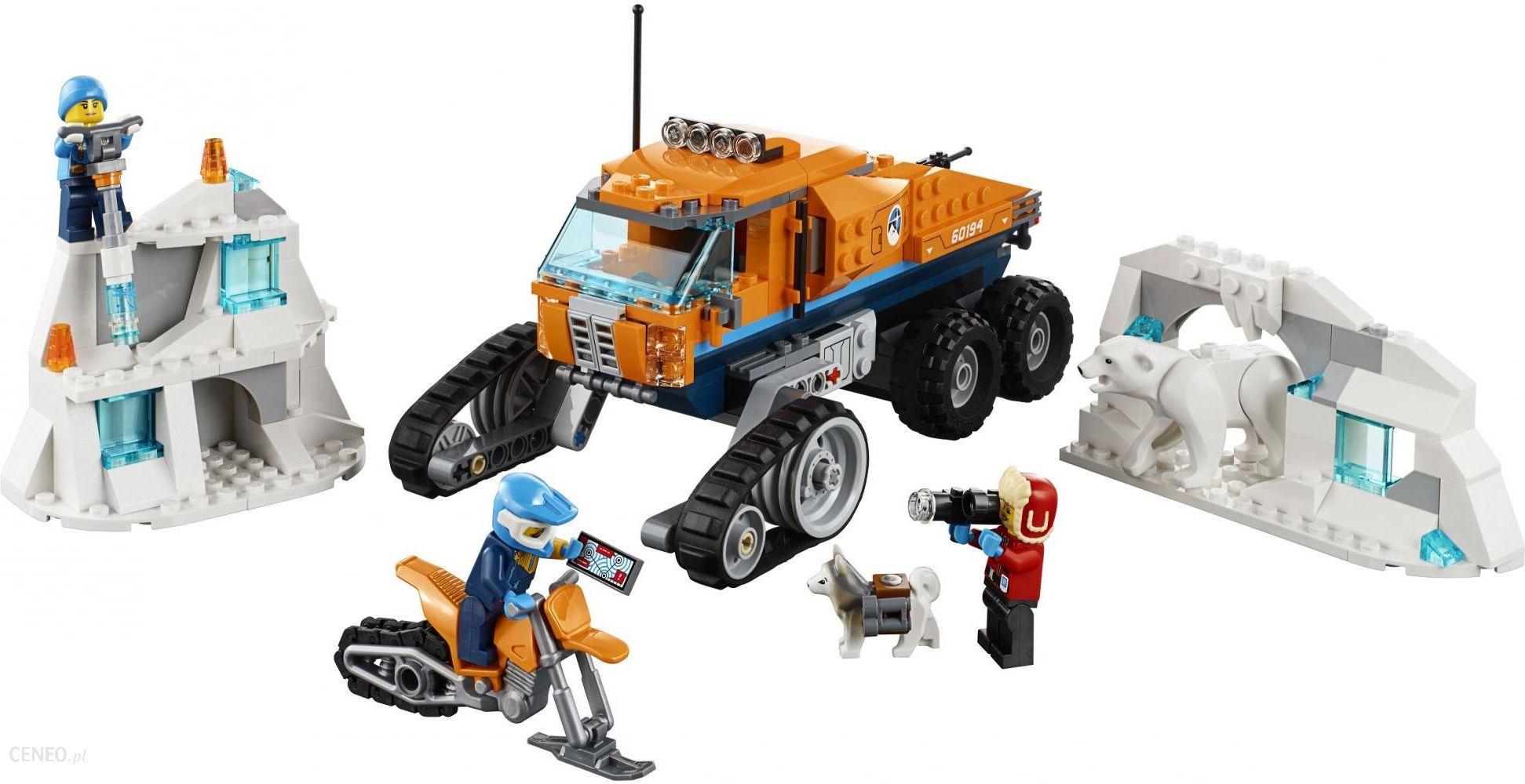 Klocki Lego City Arktyczna Terenówka Zwiadowcza 60194 Ceny I