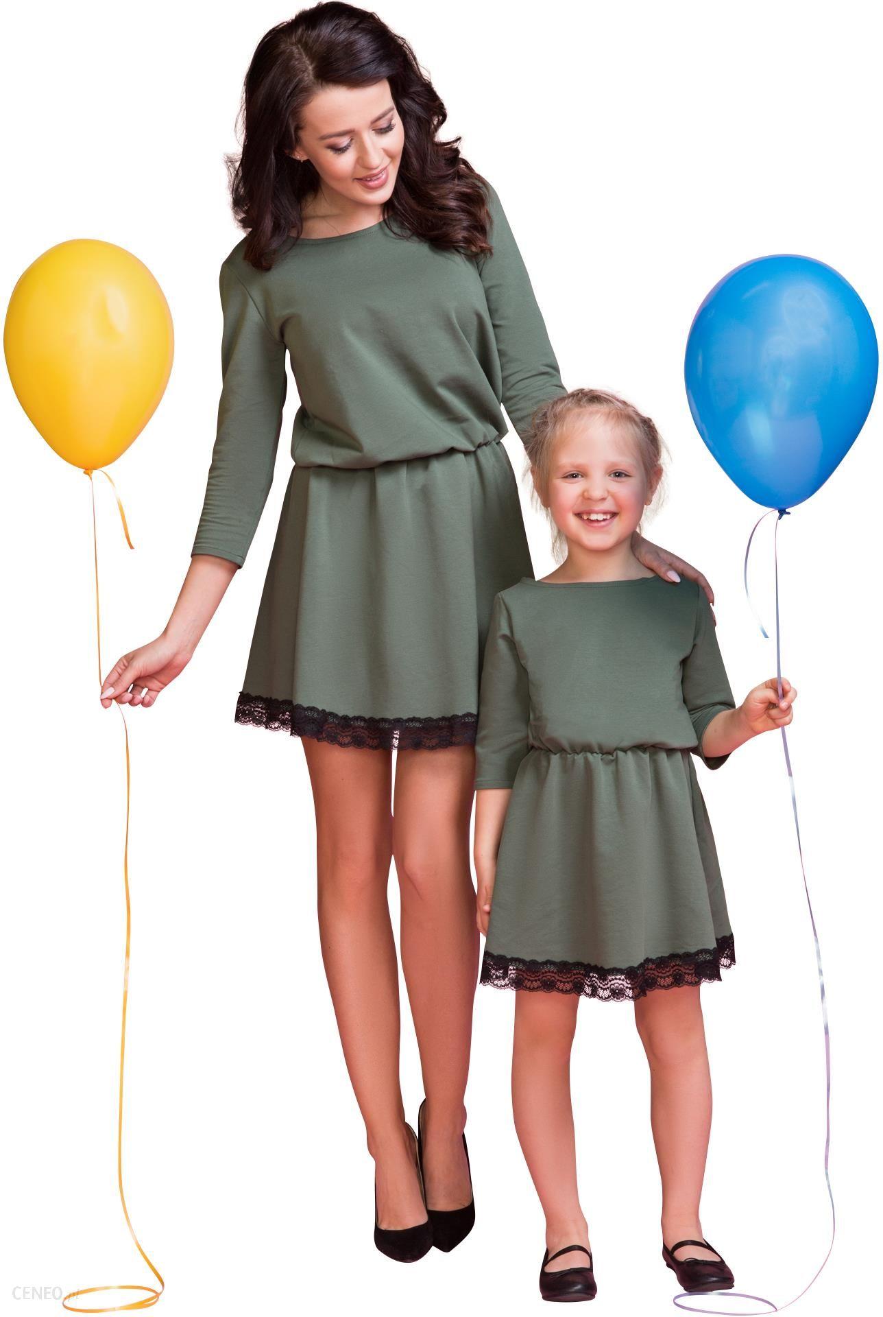 7c9c0311 Tessita Sukienka z ozdobną koronką dla Córki 80