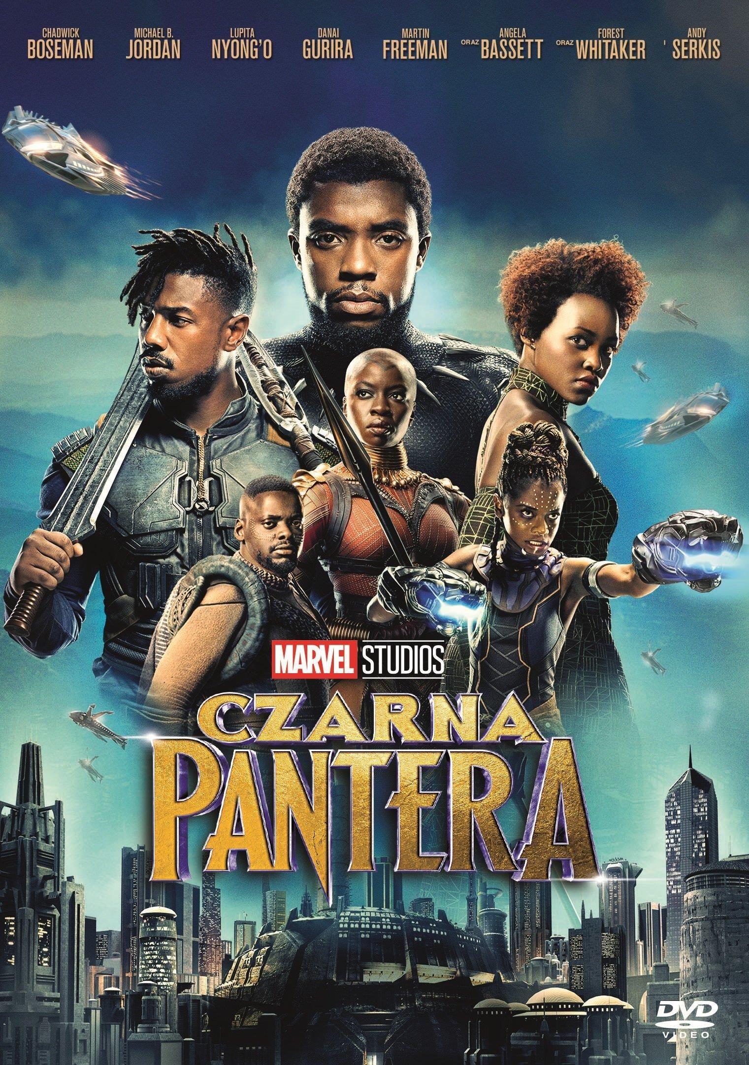 Czarna Pantera [DVD]