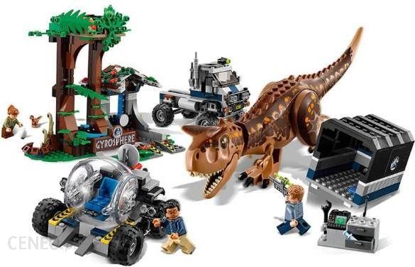 Klocki Lego Jurassic World Ucieczka Przed Karnotaurem 75929 Ceny I