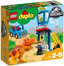 Klocki Lego Duplo Jurassic World Wieża Tyranozaura 10880 Ceny I