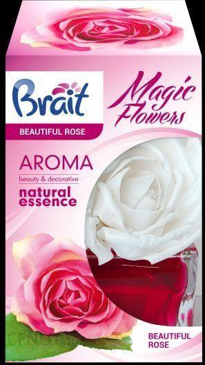 Dramers Brait Odświeżacz Powietrza Pachnący Kwiatek Beautiful Rose 75ml 59943