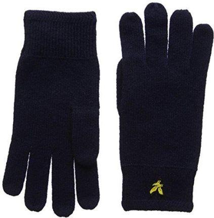 f2ebf0c16632b5 Amazon Rękawice męskie lyle & Scott racked Rib Gloves - w rozmiarze  uniwersalnym niebieski – niebieski