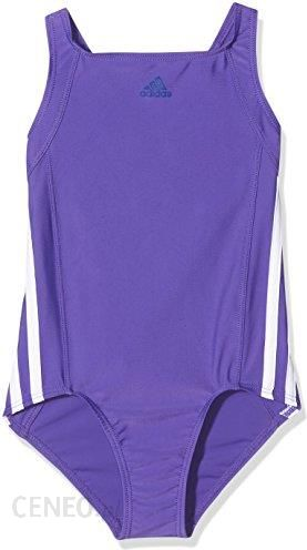 e23f02fff Amazon Adidas kostium kąpielowy dla dziewcząt INFINITEX Essence Core, 3  paski, niebieski, 152
