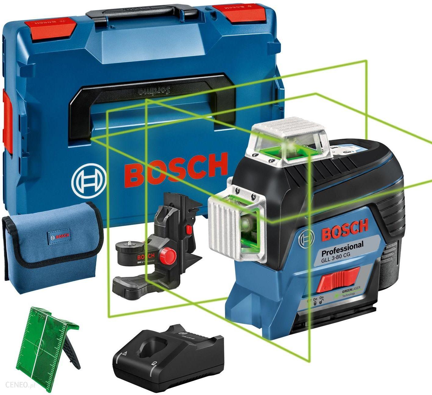 Bosch Gll 3-80 Cg + Bm1 + L-Boxx 0601063T00