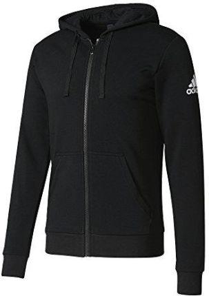 bluza adidas zipped czarna