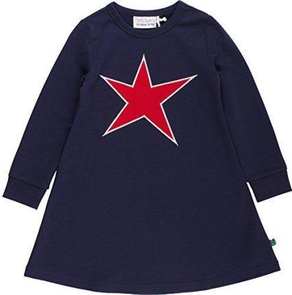 7c5760e5fa Amazon FRED wayne a by Green Cotton sukienka dziewczęca Star Dress - 128