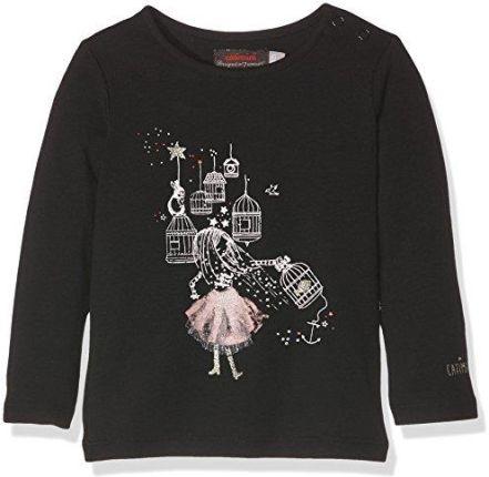 Amazon Bluzka z długim rękawem Catimini CI10053 dla dziewczynek, kolor   czarny, rozmiar  d2b32aa318d
