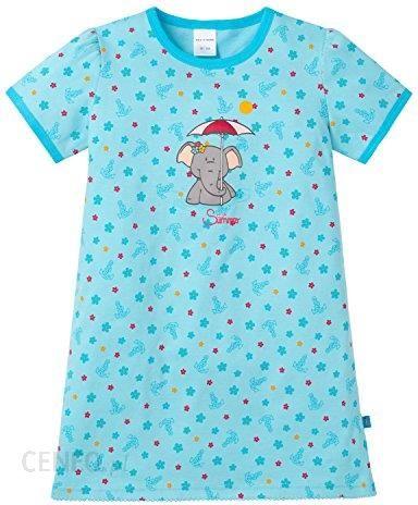 unschlagbarer Preis Wie findet man Schnelle Lieferung Amazon Koszula nocna Schiesser Nachthemd 1/2 dla dziewczynek, kolor:  niebieski, rozmiar: 104 (rozmiar producenta: 104) - Ceneo.pl