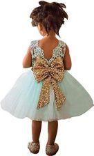 5941d1b9e2 Amazon nnjxd dziewcząt Sleeveless kostek długość Tutu księżniczka wesele  różowa sukienka - zielony
