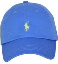 ee832e66d7eaa8 Amazon Polo Ralph Lauren Cap czapka z daszkiem Base Cap Cyan Blue One Size