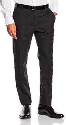 d8370f3d41e89 Amazon STRELLSON Premium męskie spodnie od garnituru 1100004 – L – Madden,  kolor: czarny