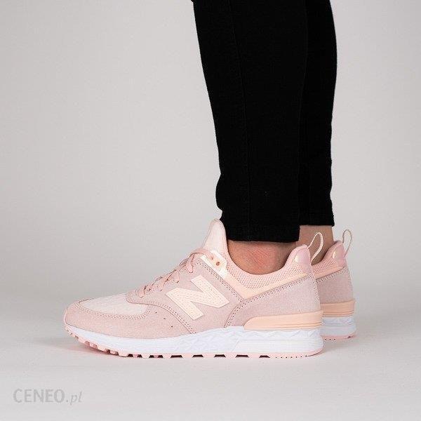 Buty damskie sneakersy New Balance WS574SNC RÓŻOWY Ceny i opinie Ceneo.pl