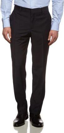 e5c1481f0c6d2 Amazon Spodnie garniturowe Tommy Hilfiger Tailored Rhames STSSLD99001 dla  mężczyzn, kolor: niebieski, rozmiar