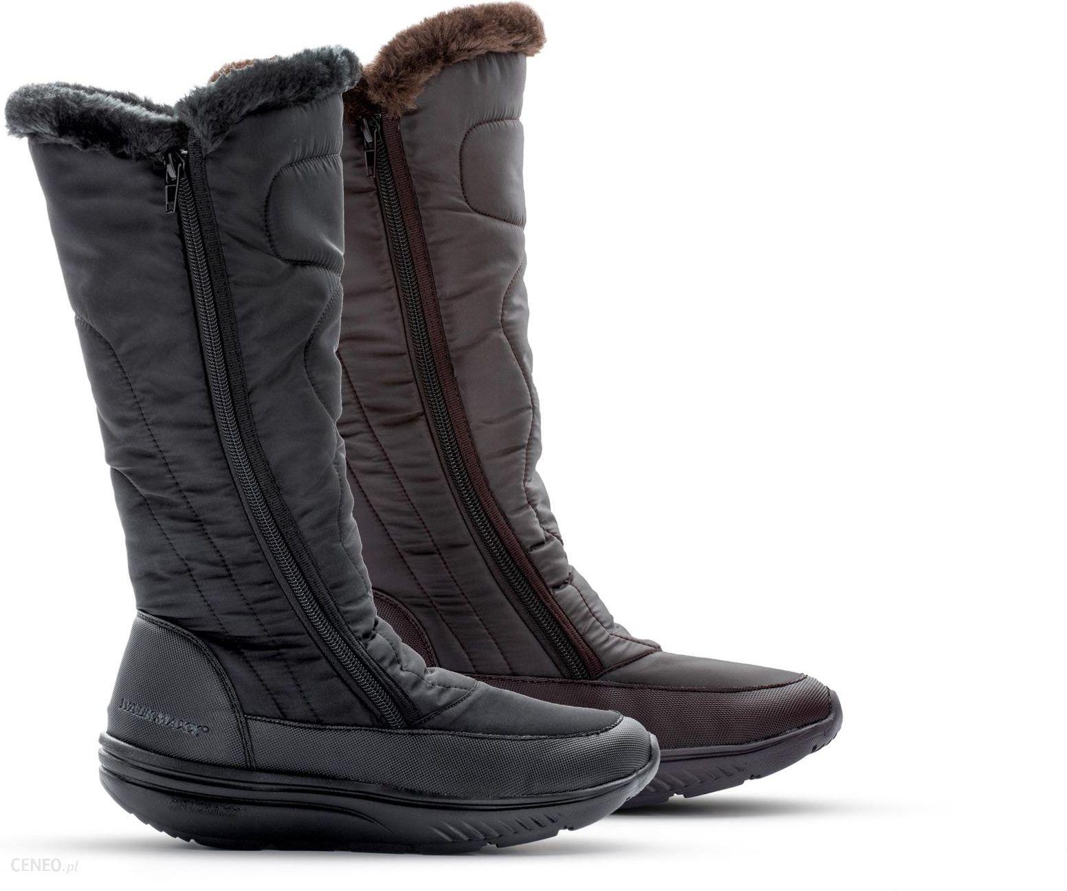 2d7a84a1 Walkmaxx Comfort Wysokie Damskie Buty Zimowe 2.0 Czarny - Ceny i ...