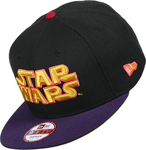 Amazon New Era EMEA 9 Fifty Snapback Star Wars Czarny kolor fioletowy -  Small   Medium f0b1634f13c